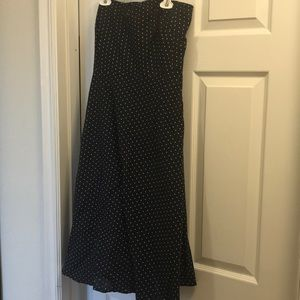 Vintage jcrew Strapless dress